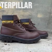 safety shoes Sepatu Safety Caterpillar Bromo Bahan Licin