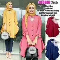 Baju atasan blouse muslim Tunik gloria