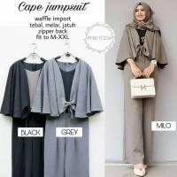 Baju Gamis Wanita Muslim Terbaru Cape Jumpsuit murah