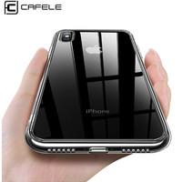 CAFELE Premium Light Glass Case - iPhone X ORIGINAL