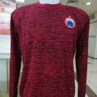 Jersey Persija Training 2018 Lengan Panjang Merah Maron Liga 1 Gojek