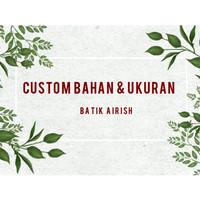 CUSTOM BAHAN DAN UKURAN | Sarung Bantal dan Taplak Meja Batik