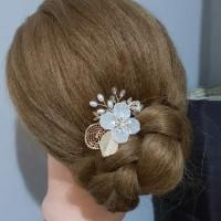 Bride Wedding Hair Accessories AR010 / Headpiece / Aksesoris Hias