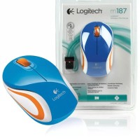 Mouse logitech wireless M187