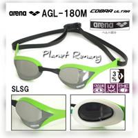 Kacamata Renang ARENA COBRA ULTRA MIRROR AGL-180M ( LT. GREEN)