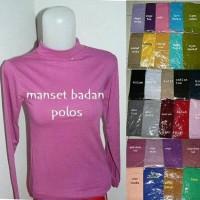 Manset/ Dalaman Hijab Bahan Kaos Adem Banyak Pilihan Warna