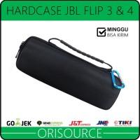 Hardcase Untuk Speaker Bluetooth JBL Flip 3 4 Bisa Masuk Kabel Charger