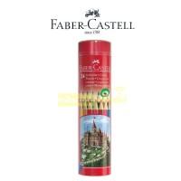 Pensil Warna 24 Faber Castell (Classic Round Tin / kemasan Kaleng)