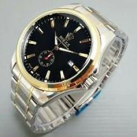Jual jam tangan pria/cowok rolex otomatis rantai detik bawah Limited