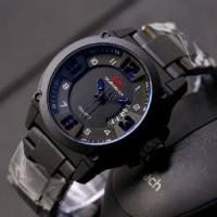 Dijual jam tangan pria/cowok Quiksilver rantai premium simple Limited