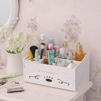 Rak Kosmetik warna putih - Cosmetic Storage Accessories Organizer R31