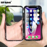 Ultra Magnetic Adsorption Phone Case For iPhone X 10 8 7 6 6S S Plus i
