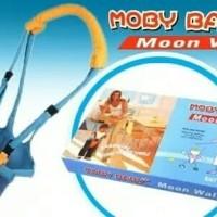 Moby baby moon walk/alat bantu jalan bayi/alat titah/moonwalk walker