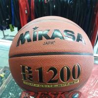 BOLA BASKET MIKASA BR1200 - Versi ORIGINAL KUAT BERKUALITAS