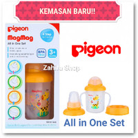 MURAH Cangkir Minum Pigeon Mag Mag Training Cup All in One Set MagMag