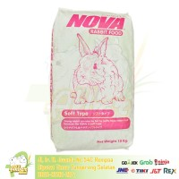 Nova 10 kg-Makanan Kelinci Nova Rabbit Food 10kg Nova Karungan