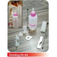 Pet Milk Bottle Feeding Kit - Dot Susu Hewan Anjing Kucing Kelinci
