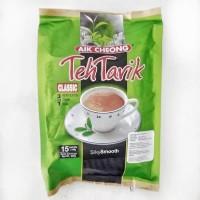 AIK CHEONG TEH TARIK 3 IN 1 CLASSIC MILK TEA BEVERAGE 15 X 40G (600G)
