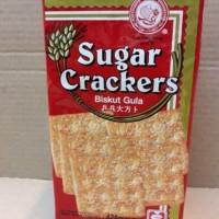 Hup Seng Sugar Crackers 428 gram. Biskuit / Gabin Gula. Cap Ping Pong