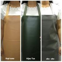 Celemek apron PVC ( Syinthetic Leather) Kulit sintesis berkualitas
