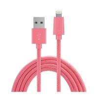 Zikko Lightning Charging Cable SC500 - 1,5 m - Pink