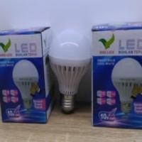 Lampu Bohlam LED Tepuk / Sensor Suara 10 Watt / 10W Putih
