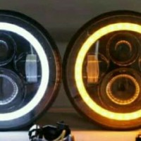"""Lampu Led 7"""" universal jimny katana fj40 carry st100 etc 2biji"""