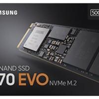 Samsung SSD 970EVO 500GB - NVMe SSD M.2 - Garansi 5 tahun