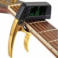 Promo Capo Tuner Gitar Bass ukulele Meideal Tcapo20 20C Berkualitas