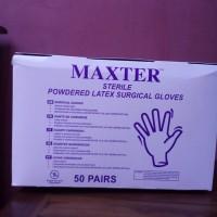 Sarung Tangan Steril / Maxter
