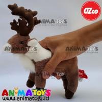 Boneka Hewan Rusa Kutub Caribou Deer Animatoys OZco SOZ012