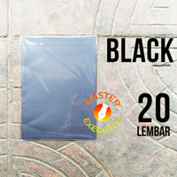 Sinar Dunia Color Kertas A4 80 gsm Warna Black Hitam / Isi 20 Lembar