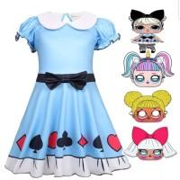 LOL Surprise Doll Kostum Anak Baju Dress Ulang Tahun