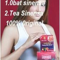 Paket sinensa beauty slim herbal dan green tea