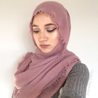 Premium scarf / pashmina / hijab import cotton crinkle / hijab modis
