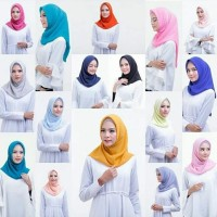 Jilbab instan/hijab instan double hycon Bella instan