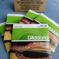 Senar Gitar Akustik D'addario 009 Bronze