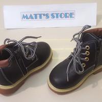 Cuci Gudang! Sepatu Boot Anak Mollyca (XH 727-1) Hitam