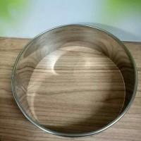 Ring cutter kue bolu bulat stainless tebal 15 cm