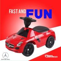 Mainan Mobil Anak MURAH, BAGUS, AWET, AUTOWHEELERS MARCEDES BENZ - Merah
