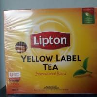 LIPTON YELLOW TEA ENVELOP 2gr