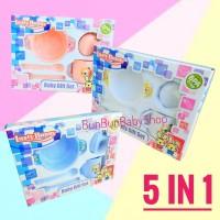 LUSTY BUNNY Feeding Set Tempat Peralatan Makan Bayi Baby Gift Murah