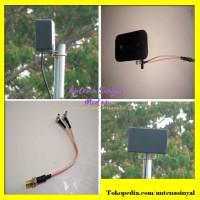 Antena Huawei E5577 - Antena Penguat Sinyal Panel Modem Mifi 3G 4G LTE