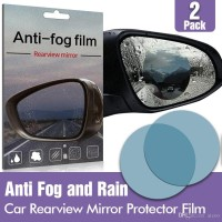 Anti Fog Film for Side / Rear Mirror Anti Embun Spion Mobil 10 x 10 cm