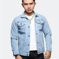 Jaket Denim Pria/Jaket Motor/Fashion Pria Model Terbaru-JY