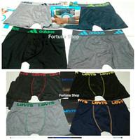 Celana Dalam Boxer Pria Adidas L XL XXL