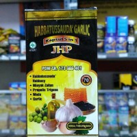Habbatussauda Garlic 5 in 1 JHP Original isi 70 Kapsul Diskon