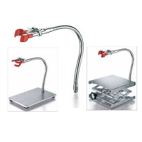 Clamp Flexible w/thread M10. For use in retort stand base & labjack