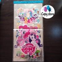 Plastik Snack Ulang Tahun / Plastik Kado/ Plastik Souvenir Little Pony