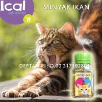 Minyak Ikan Untuk Kucing Love Me Cat Kemasan 60 Softgel